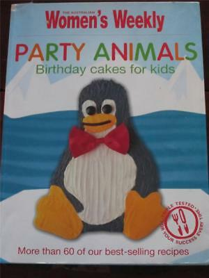 Womens Weekly Cookbook Childrens  Kids Party Animals Birthday  Cake  Recipes