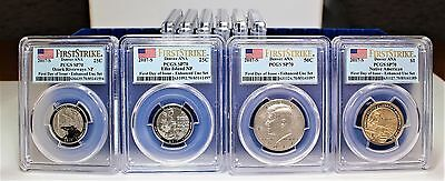 2017 S 225th Anv Enhanced Uncirculated 10 Coin Set SP70 PCGS First Day of Issue