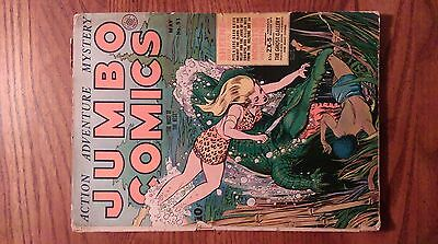 Jumbo Comics #51 SHEENA QUEEN OF THE JUNGLE! CHECK OUT THE PHOTOS!