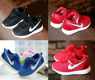 Boys Girls Casual Trainers Sport Sneakers Baby Toddler Infant Running Walk Shoes