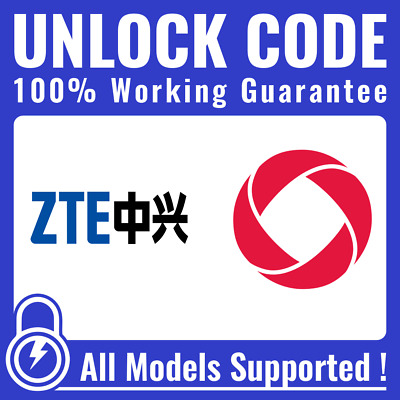Unlock CODE for Rogers - ALL ZTE Axon Axon 7 Grand X 4 & Others