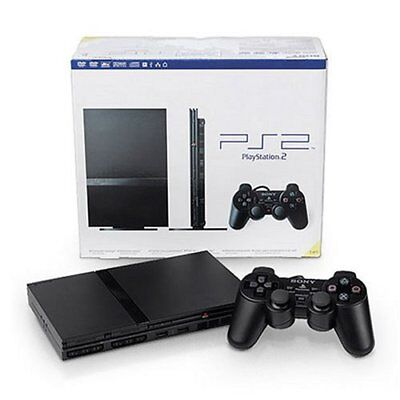 Sony PS2 PlayStation 2 Slim Console System Complete Bundle FREE PRIORITY SHIP