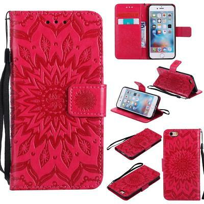 New Wallet Flip PU Leather Phone Case Cover For Apple iPhone 6 6s