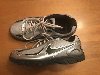Nike Incinerate Men's Size 8.5 Running Athletic Shoes Silver Gray & Black