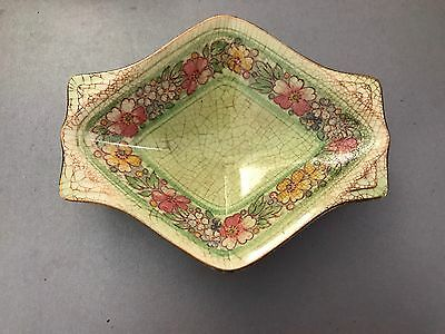 Royal Winton ' Nevin' Green Dish, Grimwades, Made In England.