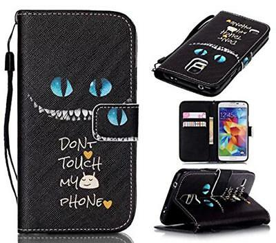 For Samsung Galaxy S5 i9600 Patterned Wallet PU Leather Stand Case Cover Flip