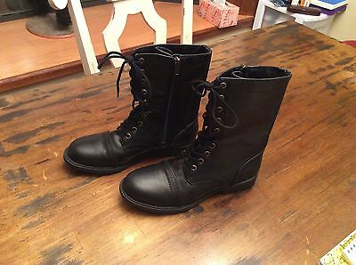 Faded Glory Boots Shoes Women's Ladies Size 8.5 Black