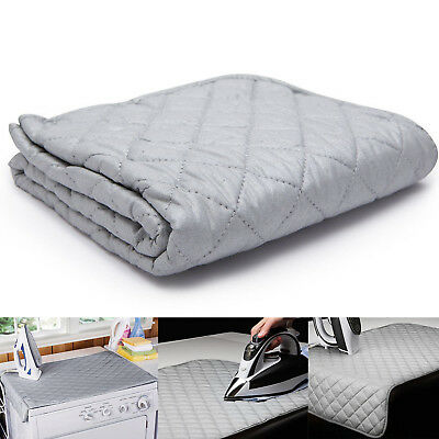 Ironing Mat Laundry Pad Washer Dryer Cover Board Heat Resistant Blanket CQ1914
