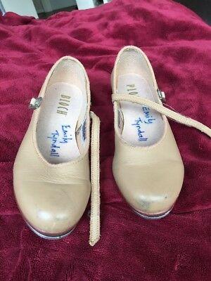 Girls Tap Dance Shoes From Bloch - Fair Used condition - Size 13
