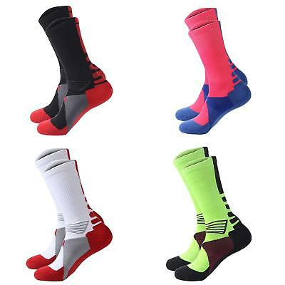 1 Pair Men Women Outdoor Riding Cycling Sports Socks Breathable Footwear Cute