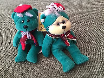 "Skansen Beanie Kids  "" GRANDMA & DRANDPA KRINGLE Kenny,s Cardiology Exclusive. """