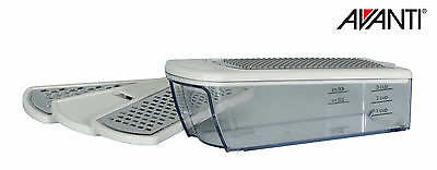 100% Genuine! AVANTI Multi Functional Boxed Grater with 4 S/S Blades! RRP $39.95
