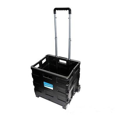 Foldable kastenkarren Folding Box with Casters Trolley 25 kg Transport 633400