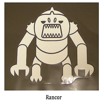 Star Wars Decal: Rancor (170x160mm) from Jabba's palace.