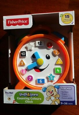 Fisher Price Laugh and Learn Clock