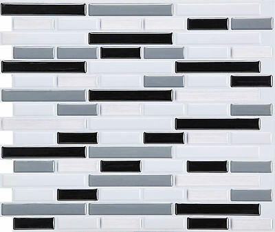 L And Stick Tile Backsplash Self Adhesive 10 Sheets