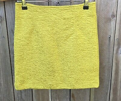 Minkpink Skirt. Lime Green. Size XS 8