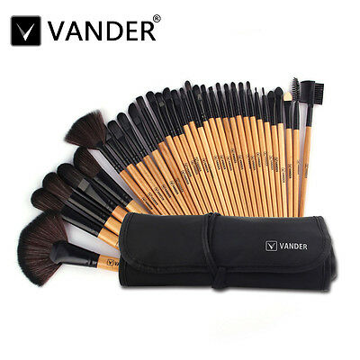 32tlg Kosmetik VANDER Pinsel-Set Makeup Brush Kit Schminkpinsel makeup Bürste