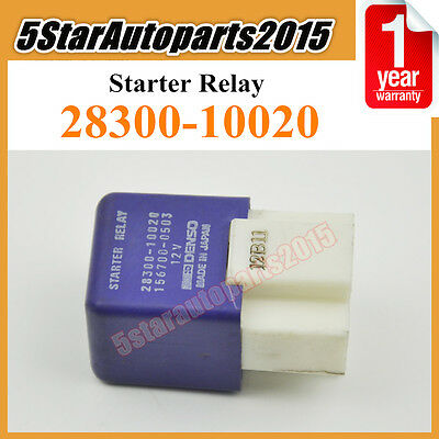 28300-10020 156700-0503 Starter Relay 12V 4-Pins For Toyota Lexus Various Models