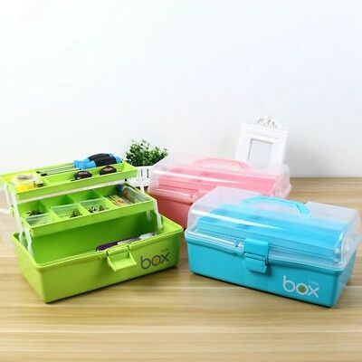 Home First Aid Kit Emergency Medical Box Multiuse Portable Tools Storage Case