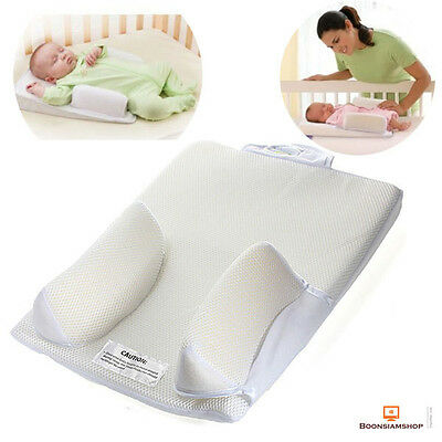Baby Sleep Positioner Infant Sleeping Support Pillow Prevent Flat Head Anti Roll