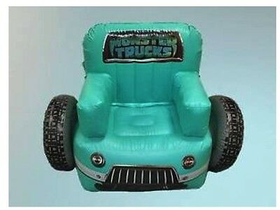 Monster Truck Movie Inflatable Chair New Novelty Pool Toy Beach Water