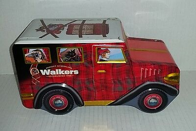 Walkers biscuit tin car WSL-1 empty side opening tin