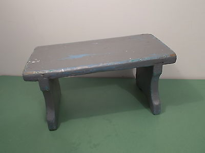 Painted Antique Victorian  Country Step Stool