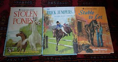 Vintage HC Books x 3 - The Pony Library - Girls Horses - Lot Hardcover