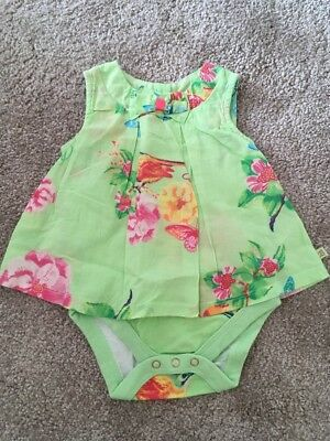 Baby Baker Floral Blouse Top Age 0-3m