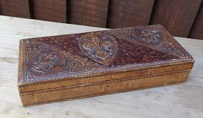 Old Leather clad box