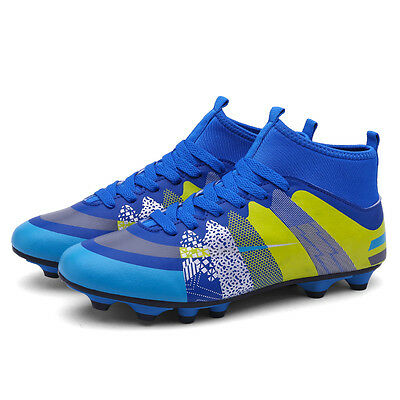 Outdoor Soccer Cleats Ankle AG Football Boots Sports Shoes Trainers Sneaker