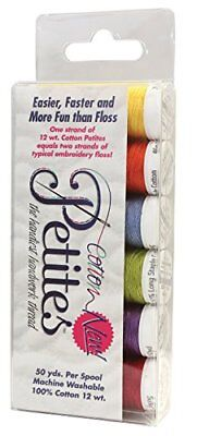 Sulky Sampler 12 Wt. Cotton Petites-Six Pack-Summer Assortment