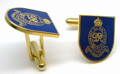 The Royal Horse Artillery Badge Cufflinks Army Military Enamel Gift In Box
