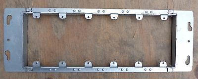 """Hubbell Raco 825 Six-Gang  Mud Ring Switch Box Cover 3/4"""" Raised High -NEW-5 pcs"""