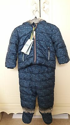 Ted Baker Baby Boys Padded 2 Piece Set.12-18 Months. BNWT. Designer Rrp £48.00