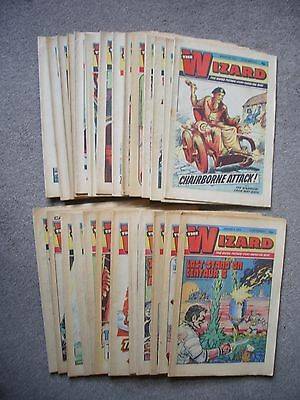 Complete half year 1975 Wizard comics