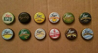 12 Leinenkugel Beer Caps Different Big Eddy Big Butt Harvest Patch Canoe Paddler