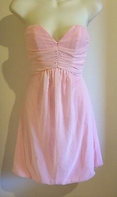Girls Size 10 Wedding Flower Girl Dress Pale Pink Formal Evening Wear Designer