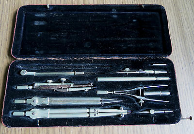 Antique Riefler Nesselwang Drafting Set Munich Germany