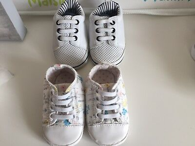 Toddlers Soft Sole Trainers 9-12 Months
