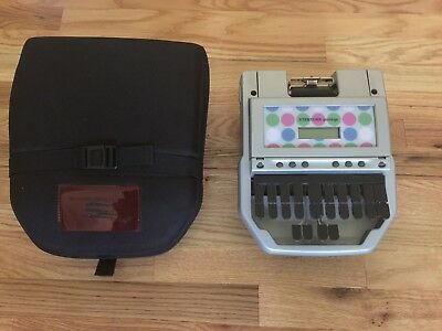 Stentura Protege Student Writer Stenograph With Case Needs Charger