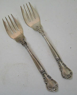 lot of 2 Gorham Chantilly Sterling Silver Forks 6 3/16""