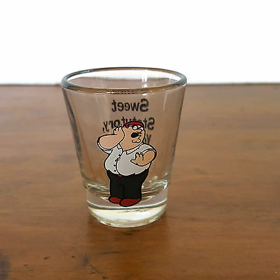 Family Guy Shot Glass Peter Griffin Sweet Statutory You Look Beautiful Icup 2005