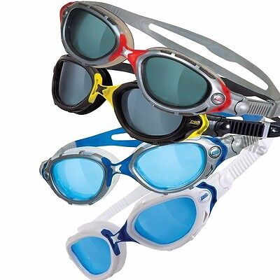 NEW Zoggs Predator Flex Adult Swimming Goggles Anti-Fog Lens FREE & FAST UK POST