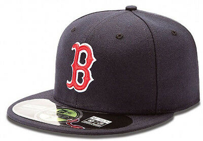 New Era Boston Red Sox Authentic Authentics Cap 5950 Basic Fitted Team Basecap