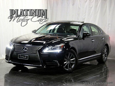 "2013 Lexus LS 4dr Sedan AWD - LS460 - Clean Carfax 1 Owner - Clean Carfax - AWD - Comfort Pkg - Blind Spot Monitor - 19"" Wheels"