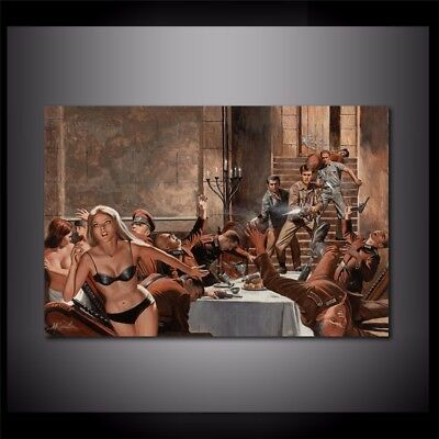 """The Sex and Rest Castle,Home Decor HD Print art painting on canvas  24x36"""""""