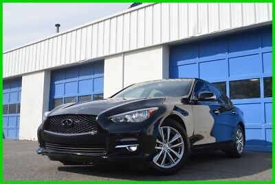 2017 Infiniti Q50 3.0t Premium Blak Black Naviagtion Bose Premium Audio Leather Power Everything Rear Cam +More