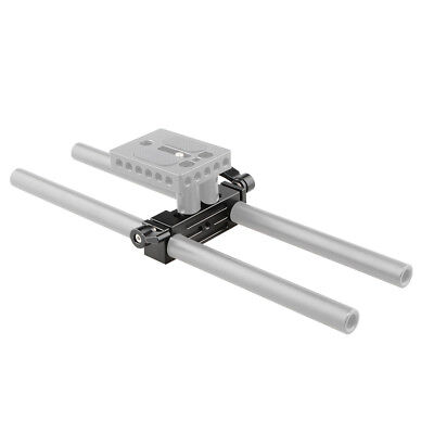 US CAMVATE Rod Clamp 15mm Railblock For DSLR 15mm Rail Rig Rod Support System